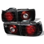 1992 Honda Accord Sedan Black Altezza Tail Lights
