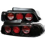 1999 Honda Prelude JDM Black Altezza Tail Lights