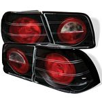 Nissan Maxima 1995-1996 Black Altezza Tail Lights