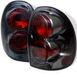 2002 Dodge Durango Smoked Altezza Tail Lights