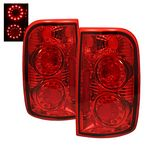 2000 Chevy Blazer Red LED Ring Tail Lights