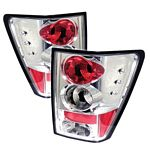 2005 Jeep Grand Cherokee Clear Altezza Tail Lights