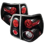 Lincoln Navigator 2003-2006 Black Altezza Tail Lights