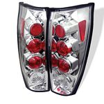 2005 Chevy Avalanche Clear Altezza Tail Lights