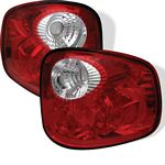 2003 Ford F150 Red Stepside Altezza Tail Lights