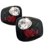 Ford F150 2001-2003 Black Stepside Altezza Tail Lights