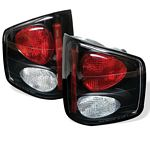 2000 Chevy S10 Black Altezza Tail Lights