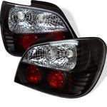 Subaru Impreza 2002-2003 Black Altezza Tail Lights