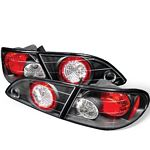 Toyota Corolla 1998-2002 Black Altezza Tail Lights