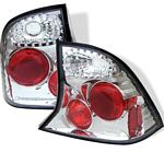 2001 Ford Focus Sedan Clear Altezza Tail Lights