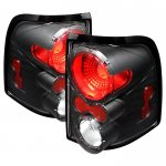 2002 Ford Explorer Black Altezza Tail Lights