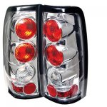 2004 GMC Sierra Clear Altezza Tail Lights