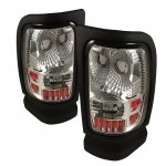 Dodge Ram 1994-2001 Clear Altezza Tail Lights