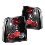 VW Passat 1997-2000 Black Altezza Tail Lights