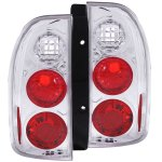 Suzuki Grand Vitara 1999-2004 Chrome Custom Tail Lights