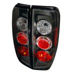 2012 Nissan Frontier Black Altezza Tail Lights