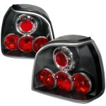 1994 VW Golf Black Altezza Tail Lights