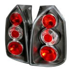 Hyundai Tucson 2005-2009 Black Altezza Tail Lights