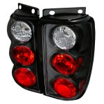 Ford Explorer 1995-1997 Black Altezza Tail Lights