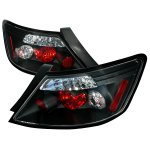 Honda Civic Coupe 2006-2010 JDM Black Altezza Tail Lights