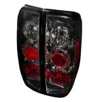 2012 Nissan Frontier Smoked Altezza Tail Lights