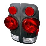 2007 Ford F350 Styleside Black Altezza Tail Lights