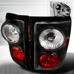 Ford F150 Flareside 2001-2003 Black Altezza Tail Lights