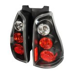 2005 Toyota 4Runner Black Altezza Tail Lights