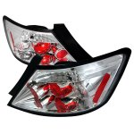 2010 Honda Civic Coupe Clear Altezza Tail Lights