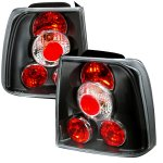 VW Passat Sedan 1998-2001 Black Altezza Tail Lights