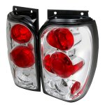 Mercury Mountaineer 1998-2001 Clear Altezza Tail Lights