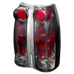 1997 GMC Yukon Smoked Altezza Tail Lights