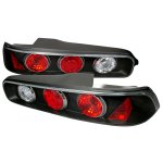 Acura Integra Coupe 1994-2001 JDM Black Altezza Tail Lights