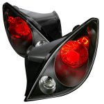 2007 Pontiac G6 Coupe Black Altezza Tail Lights