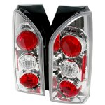 Nissan Xterra 2005-2007 Clear Altezza Tail Lights