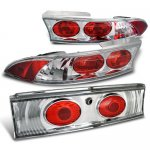 Mitsubishi Eclipse 1995-1999 Altezza Tail Lights Chrome