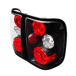 Ford Ranger 1998-2005 Black Altezza Tail Lights