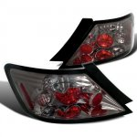 Honda Civic Coupe 2006-2010 Smoked Altezza Tail Lights