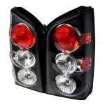 Nissan Pathfinder 2005-2009 Black Altezza Tail Lights