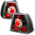 VW Jetta 1999-2004 Black Altezza Tail Lights