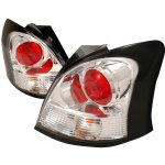 Toyota Yaris Hatchback 2007-2009 Clear Altezza Tail Lights