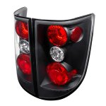 2009 Honda Ridgeline Black Altezza Tail Lights