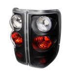 Ford F150 2004-2008 Black Altezza Tail Lights