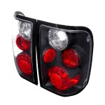 Ford Ranger 1993-1997 Black Altezza Tail Lights