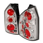 Hyundai Tucson 2005-2009 Clear Altezza Tail Lights