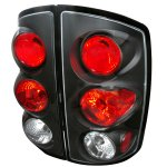 2006 Dodge Ram Black Altezza Tail Lights