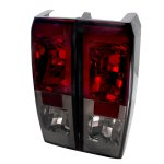 Hummer H3 2006-2009 Red and Smoked Altezza Tail Lights