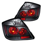 Scion tC 2005-2010 Black Altezza Tail Lights