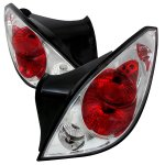 Pontiac G6 Coupe 2005-2009 Clear Altezza Tail Lights