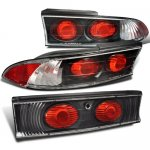 Mitsubishi Eclipse 1995-1999 Altezza Tail Lights Black